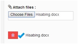 aattach files